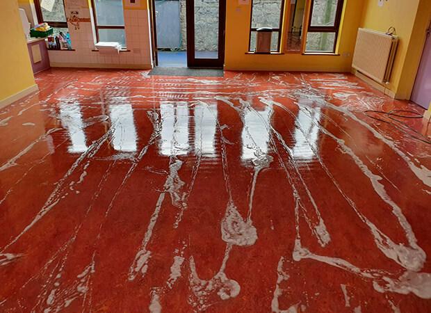 Linoleum Cleaning - Floor Cleaning Dublin